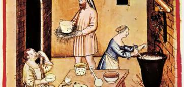 Udklip middelalder ost